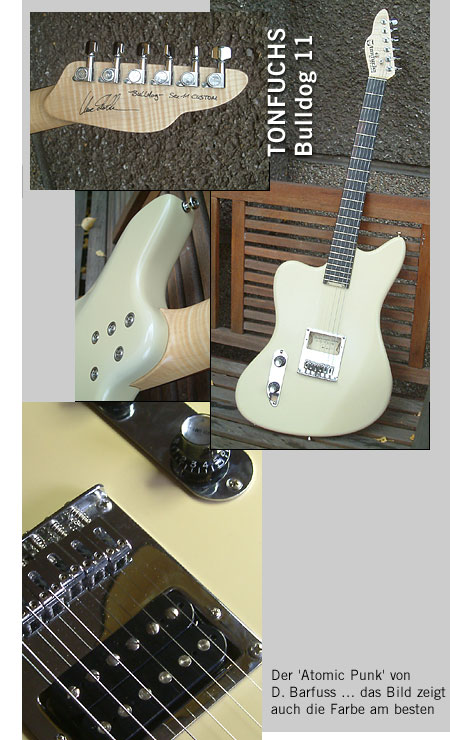 TONFUCHS Bulldog 11 Custom / Lefthand