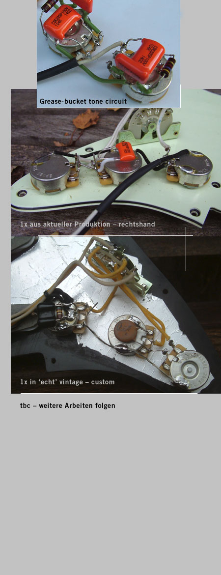 Lefthand wiring harness for Stratocaster®